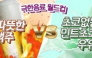 초코 없는 민초우유 VS 따뜻한 맥주? 최악의 음료월드컵