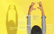 팬톤 2021 올해의 컬러 활용하기 'Illuminating & Ultimate Gray'