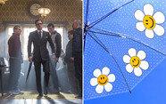 100만 원짜리 킹스맨 우산 vs 만 원짜리 깜찍이 우산