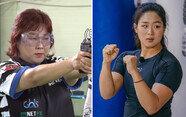 운동 귀재 김민경, 근육 부자 정유인... 여성 스타들의 멋진 근육