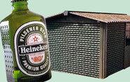 다 마신 맥주병이 벽돌이 된다면? 하이네켄 WOBO