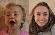 세상에 하나뿐인 생일선물 '20년 동안 촬영한 딸의 얼굴'