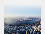 새 아파트와 재건축 아파트가 대비되는 서울 송파구 잠실동 전경. [박해윤 기자]