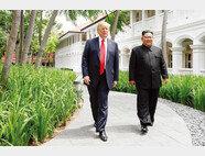 도널드 트럼프 미국 대통령.(왼쪽) 김정은 북한 국무위원장. [뉴시스]
