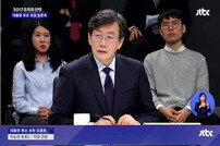 """JTBC 대선토론 시청률 15% 돌파…누리꾼들 """"손석희 진행, 품격이 다른 토론"""""""