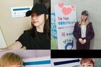 [사전투표 인증샷] 혜리-공민지-바로-백아연까지…아이돌 '사전투표 인증샷'