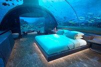 몰디브, 세계 최초 수중 호텔 개장…1박 요금 '상상초월'