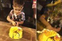 생일 맞은 아들에게…날달걀 세례 퍼부은 부모 '눈살'