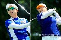 공동 2위에도 빛난 김효주와 박인비…우승이 멀지 않았다