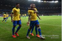 [코파 아메리카] 브라질, 아르헨티나에 전반 1-0 리드