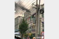 천안 두정동 화재, 수십여명 대피 소동…비상 대응 2단계