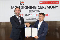 KT, 美 출판사와 영어교육 콘텐츠 개발