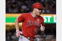 LAA 트라웃, 시즌 38호 홈런 폭발… 개인 최다 홈런에 -4개