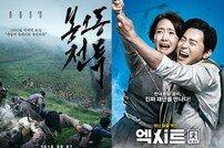 [DA:박스] 1위 '봉오동전투' VS 600만 돌파 '엑시트', 초접전