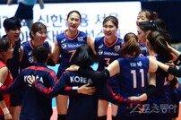 [포토] 여자 배구대표팀, 홍콩에 3-0 완승