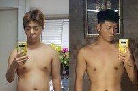 """강남, 15kg 감량 인증…""""복근 만드는 재미에 푹"""""""