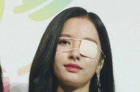 [2019 소리바다어워즈] 우주소녀 보나, 미모 가리는 안대