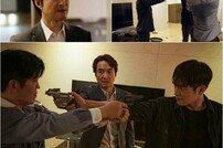 [DAY컷] '왓쳐' 총 겨눈 한석규x서강준…분노 폭발 '긴장감↑'