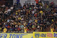 아산 무궁화, 총 유료관중 4만 722명 '작년 총 관중 넘어서'