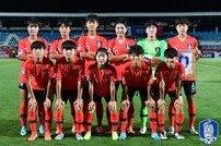 한국 U-16 여자축구대표팀, AFC U-16 챔피언십에서 중국에 0-2 패