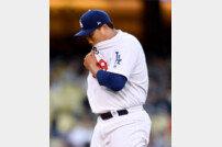 LAD 류현진, QS+에 첫 홈런 불구 아쉬움… 2피홈런 3실점
