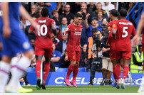 리버풀, 첼시 2-1 제압 '개막 후 6연승 파죽지세'
