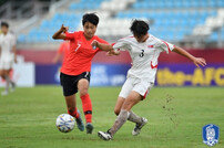 U-16 여자축구 대표팀, 북한에 패하며 U-17 월드컵 진출 실패