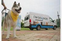 현대자동차, '찾아가는 반려견 헌혈카' 캠페인 런칭