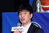 [포토] 김종규 '몸 상태 최고로 만들어 올게요'