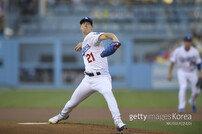 다저스, 워싱턴 1차전 선발 뷸러 낙점…류현진은 미정