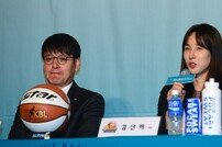 [포토] 김단비 '저희 팀 어린 선수들을 주목해 주세요'