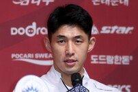 [포토] 지태환 '신진식 감독과 우승 도전합니다!'