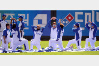 [포토] 훈련하는 야구대표팀
