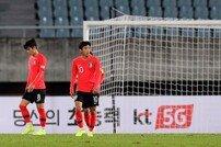 [포토] 고개 떨구는 U-22 대표팀