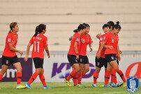 한국 U-19 여자축구, AFC U-19 챔피언십 준결승 진출 '북한과 격돌'