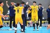 '하면 된다' KB손해보험, 12연패 뚫고 시즌 첫 셧아웃 승리