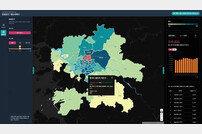 SKT, 통계청과 유동인구 지도 서비스