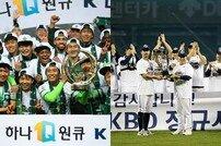 최종전 역전-동률 우승, 닮은꼴 두산과 전북