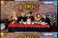 세븐어클락, 데뷔 1000일 기념 V라이브 #팬사랑 #이색Q&A #먹방