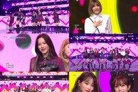 '뮤직뱅크' 네이처, 후속곡 '빙빙' 활동 첫 스타트 '깜찍한 유혹'