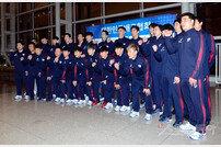 [포토] 남자배구대표팀, 20년 만의 올림픽행 도전!