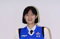 [포토] 오승인 '우리은행 지명된 미소'