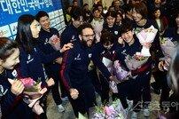 [포토] 포효하는 라바리니 감독, 올림픽 진출 '내 생에 최고의 날!'
