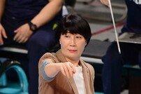 [포토] 이도희 감독 '카리스마로 작전 지시'