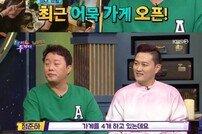 """'해투4' 정준하 """"가게 운영만 4곳…연예인 수입 더 나아"""""""