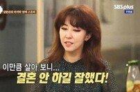 """김완선 결혼생각, 김완선 """"살아보니 결혼 안 하길 잘했단 생각"""""""