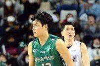 [포토] 김훈 '좋았어 3점슛'
