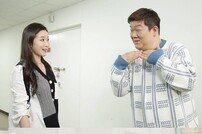[DAY컷] 유민상♥김하영, 기습 키스? '개그콘서트' 비하인드 공개