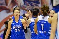 [포토] 우리은행 '65-53' 승리로 1위 수성!