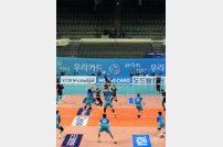 [포토] 배구장, 코로나19 확산 방지 무관중 경기